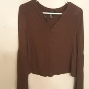 Forever 21 top with angel sleeves